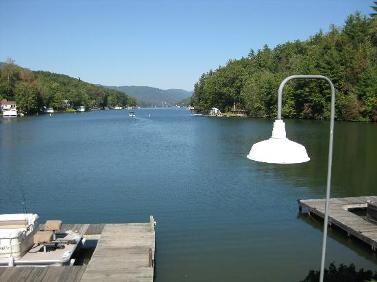 Larkin's On The Lake: October 2012 - View from dining deck
