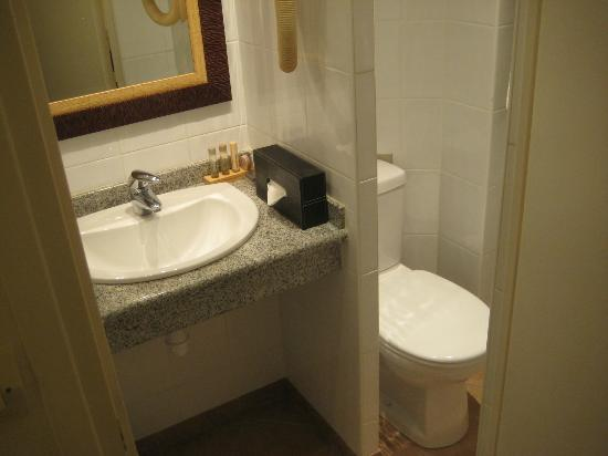 Hotel Nicolo: Bathroom