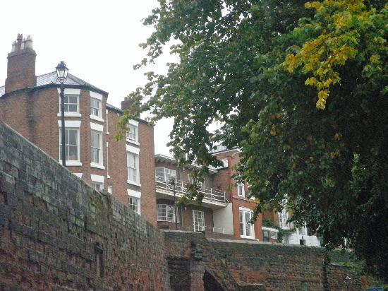 Chester Recorder House: View of Hotel from the River