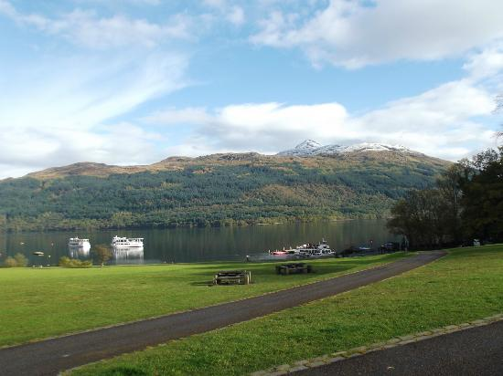 Ardgartan Hotel: Loch Lomond at Tarbet