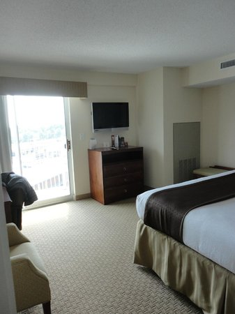 Holiday Inn Hotel &amp; Suites Asheville Downtown:                                                       Bedroom of the suite