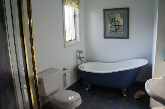 Silken Dreams Bed and Breakfast: En suite bathroom