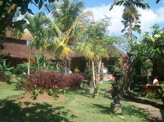 Oka Kartini Bungalows: the gardens at Oka Kartini