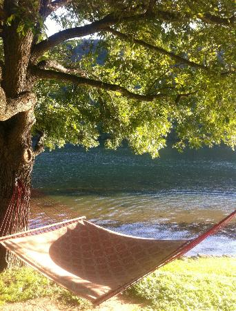 Lake Austin Spa Resort: This hammock is calling you in for a nap