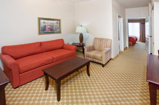 Country Inn & Suites Columbus : CountryInn&Suites Columbus Suite