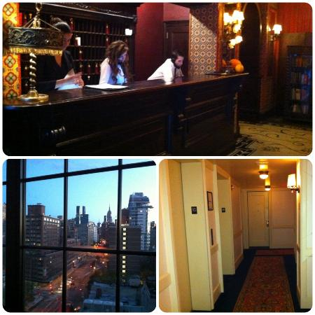 The Bowery Hotel: Front Desk, Corner King View, Hallway