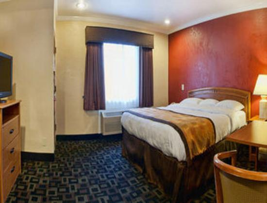 Super 8 Palo Alto: One Bed Guest Room