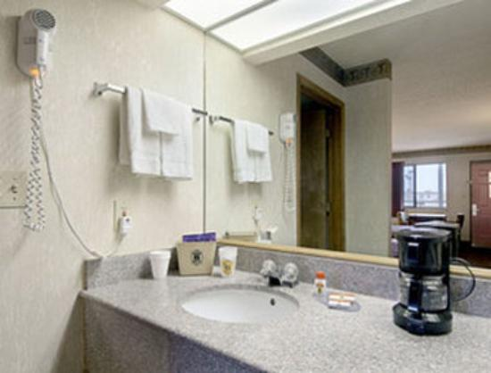 Super 8 Motel Seguin: Guest Room Bathroom