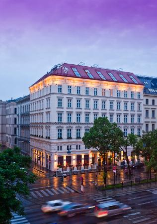The Ring, Vienna's Casual Luxury Hotel: The Ring Hotel Facade