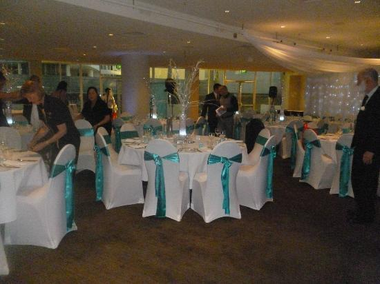 Outrigger Twin Towns Resort: The wedding reception