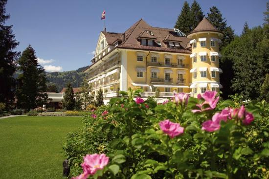 Grand Hotel Bellevue, Gstaad, Summer