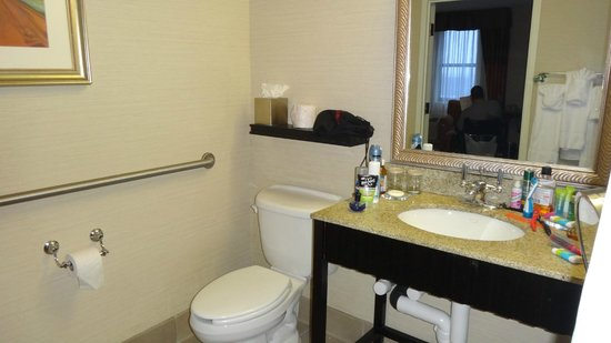 Radisson Plaza-Warwick Hotel Philadelphia: Accessible room
