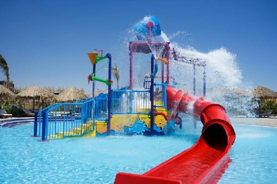 Kids Slide Pool Picture Of Sindbad Aqua Park Hurghada