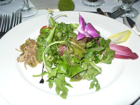 Le Grand Lodge Mont-Tremblant: Salad