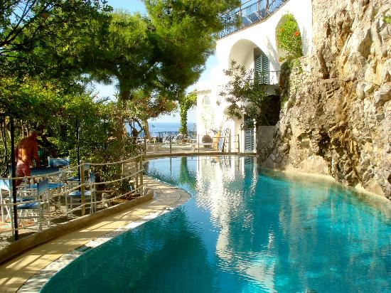 Saltwater pool picture of la fenice positano tripadvisor - Hotels with saltwater swimming pools ...