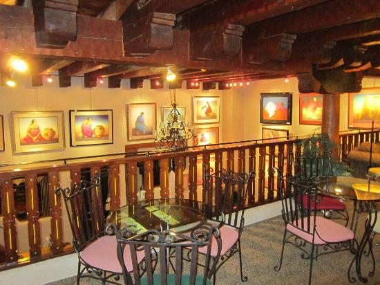 Hotel La Fonda de Taos: great local art