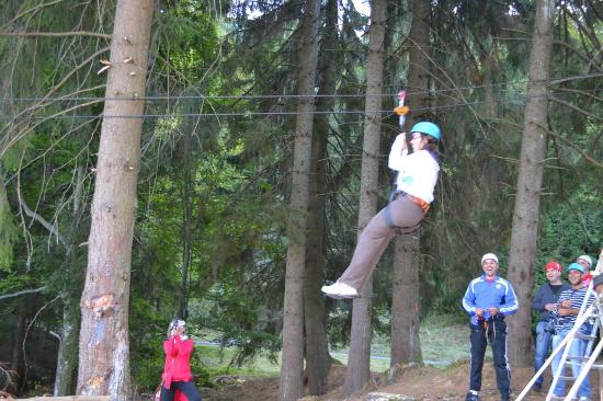 Pension Speranta: Zip line