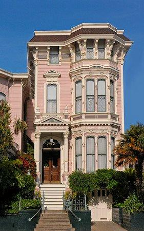 The Inn San Francisco: Capturing the romantic spirit of the Victorian era,originally built in the early 1870