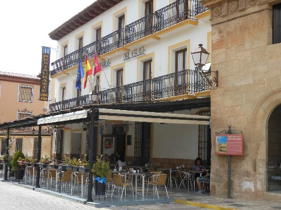 San Clemente, Spanien: La Posada del Reloj, entre du restaurant