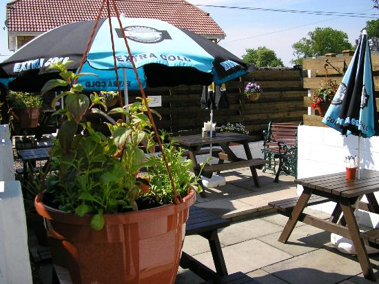 Carnwath, UK: Beer Garden