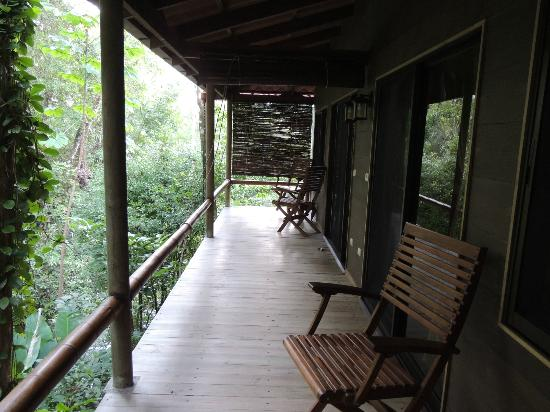 Cascadas Farallas Waterfall Villas: Dragon Fly Suite Balcony