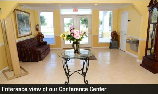 Americas Best Value Inn Suites Enterprise: Our Conference Center Enterance View