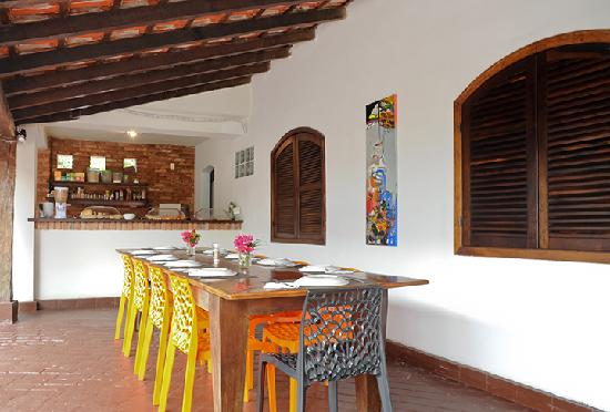 Casa Cool Beans B&B - Santa Teresa: Breakfast area