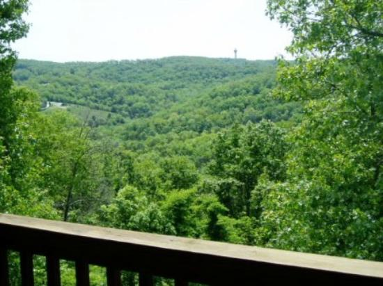 Notch Estates: Great view from balcony