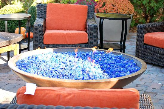 Hilton Garden Inn Danbury: Fire Pit