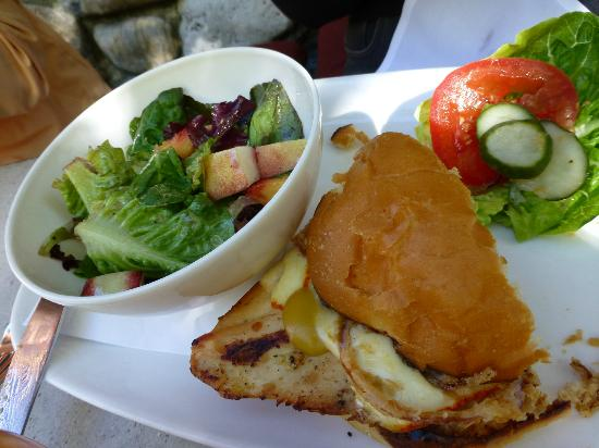 Squaw Valley, Kalifornia: Chicken Sandwich