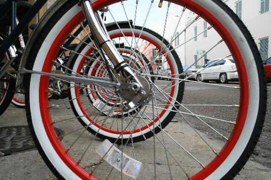 Bike Rims And Tires The American Bicycle Rental