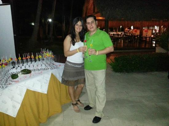Grand Palladium Punta Cana Resort & Spa: INOLVIDABLE CENA DE LUNA DE MIEL- GRACIAS-