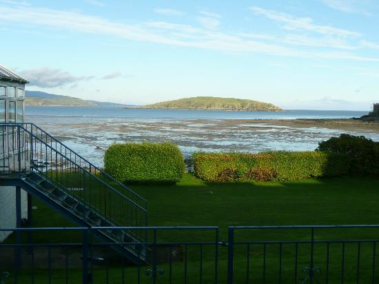 Auchencairn, UK: The view from the ground floor rooms
