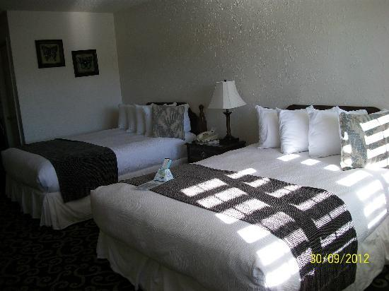 BEST WESTERN PLUS Trailside Inn: Comfortable queen beds