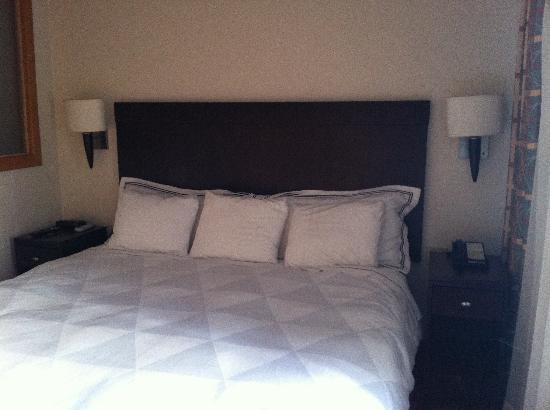 Radisson Ambassador Plaza Hotel & Casino San Juan: The bed was a sleep number so it was adjustable