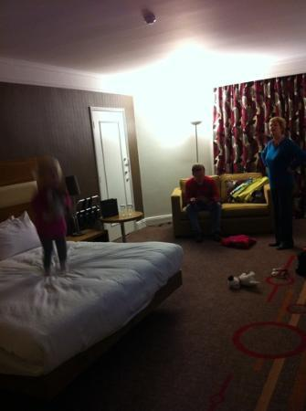Hilton Birmingham Bromsgrove: Additional room for our stay