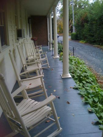 The Charleston House: Side Porch