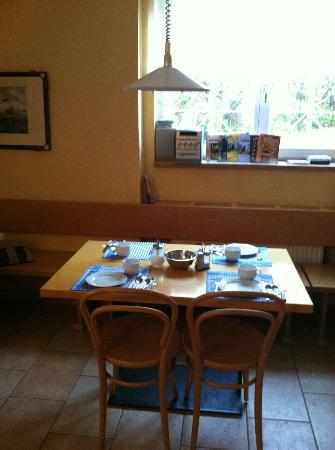 Lida Guest House: A nice place to have breakfast