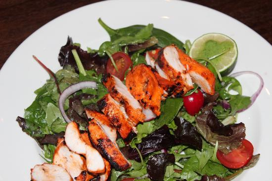 CHICKEN TIKKA SALAD - Picture of Zaika Livingston, Livingston ...