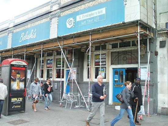 St Christopher's Inn & Belushi's-Hammersmith: renovations