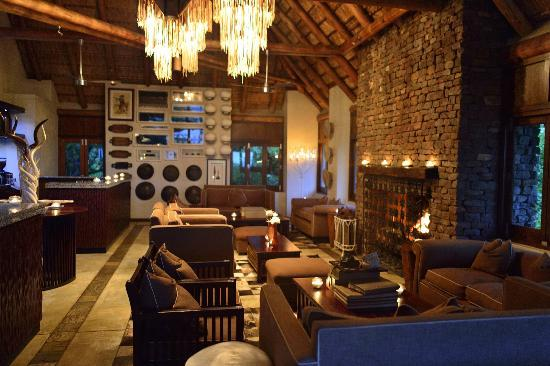 andBeyond Phinda Mountain Lodge: Main lodge