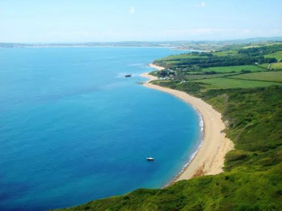 Den engelske riviera, UK: Ringstead Bay