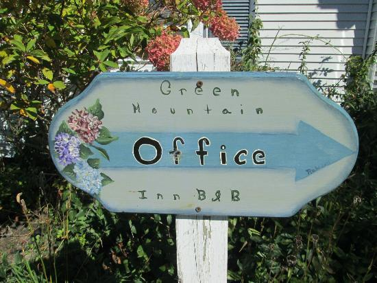 Green Mountain Inn : Green Mountain B&B