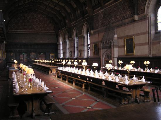 ‪‪Keble College‬: Dining Hall‬