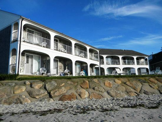 Beach House at Bass River: View from the beach
