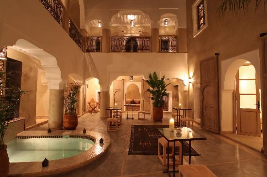Riad Dar Ten: Patio