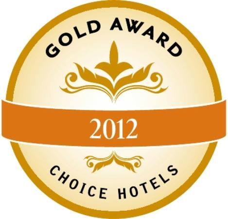 Comfort Inn: 2012 Gold Award