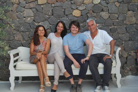 Aenaon Villas: With the wonderful George and Alexandra