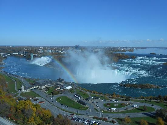 Marriott Niagara Falls Gateway on the Falls Hotel: Picture taken from our room, 2919