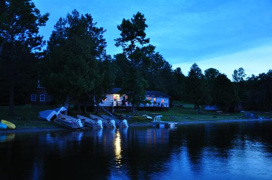 okimot lodge and cabins from lake tomiko picture of. Black Bedroom Furniture Sets. Home Design Ideas